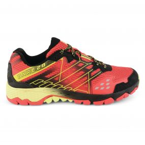Men's Razor Trail Shoes Danger Red/Lime Punch