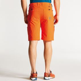 Men's Tuned In Shorts Pumpkin Orange