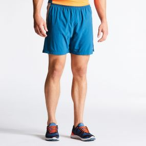 Men's Undulate Sports Shorts Kingfisher Blue
