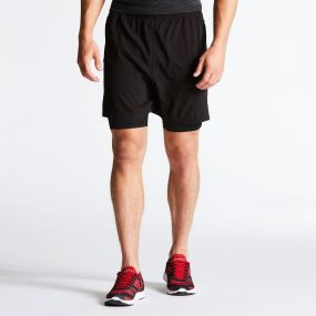 Men's Linked Showeproof Shorts Black