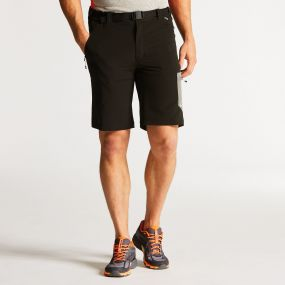 Men's Paradigm Softshell Hiking Shorts Black