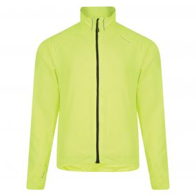 Fired Up Windshell Jacket Fluro Yellow
