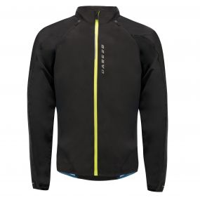 Unveil Windshell Jacket Black
