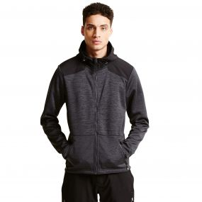 Men's Varience Softshell Midlayer Jacket Ebony/Black