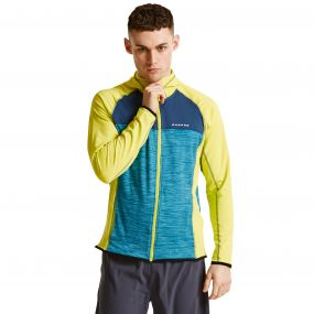 Men's Ratify II Core Stretch Midlayer Jacket NeonSp/Titan