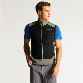 Men's Appertain Softshell Gilet Smokey Grey/Charcoal