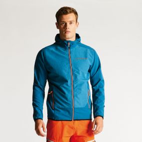 Men's Appertain Softshell Jacket Kingfisher Blue