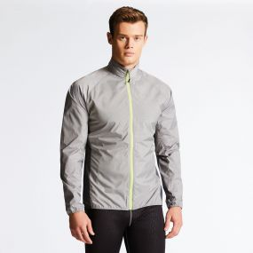 Men's Fired Up II Windshell Jacket Mid Grey