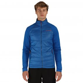 Edge Off Hybrid Jacket Oxford Blue