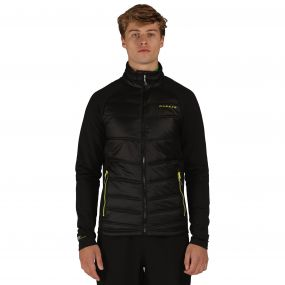 Edge Off Hybrid Jacket Black