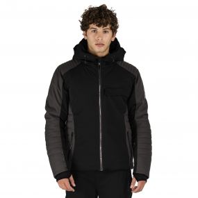 Shadow Side Ski Jacket Black Anthracite
