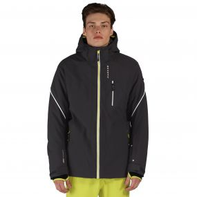 Enthrall Ski Jacket Ebony Grey