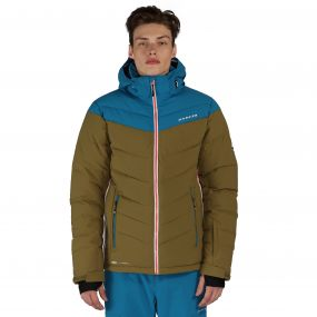 Intention Ski Jacket Utility Green Blue