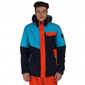 Hurl Down Ski Jacket Blue Trail Blaze