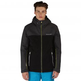 Requisite Ski Jacket Ebony Black