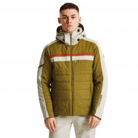 Men's Throwback Ski Jacket Crdmom/Oatml