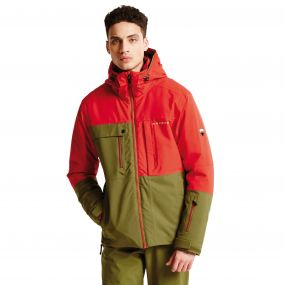 Men's Obverse Pro Ski Jacket Crdmom/Sevil