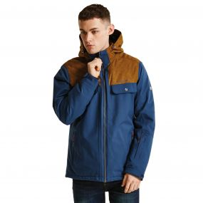 Men's Descant Ski Jacket Admiral/GldB