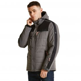 Men's Outdone Ski Jacket Smokey/Black