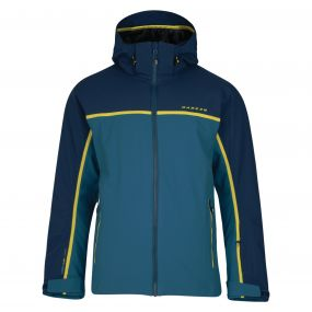Men's Obtain Ski Jacket Titan Admiral Blue