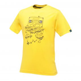 Frequency T-Shirt Bright Yellow