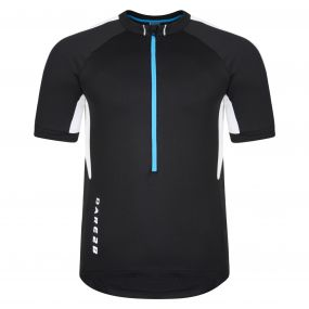 Retribute Cycle Jersey Top Black