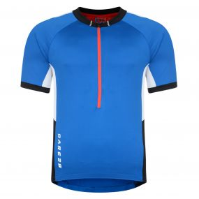 Retribute Cycle Jersey Top Blue