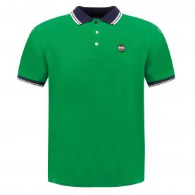 Under Rule Polo Shirt Trek Green