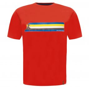 Multiband T-Shirt Fiery Red