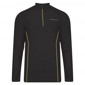 Men's Trivial Half Zip Multisport Jersey Black