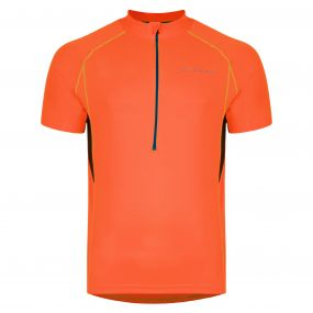 Jeopardy Jersey Neon Orange