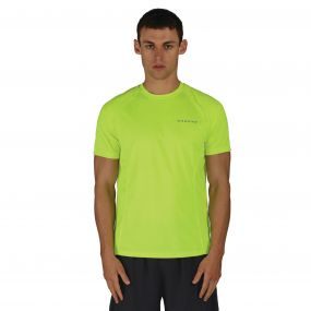 Undermine T-Shirt Fluro Yellow