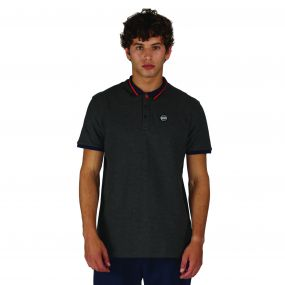 Inundate Polo Charcoal Marl