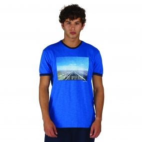 Out of Town T-Shirt Oxford Blue