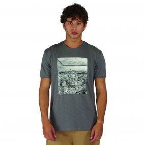 Out of Town T-Shirt Aluminum Grey