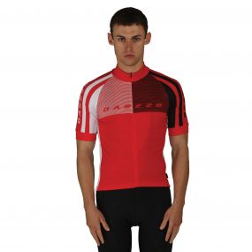 Men's AEP Chase Out Jersey Cycle Top Seville Red