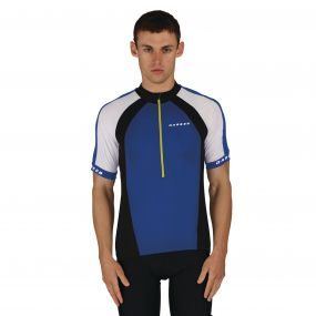 Outstart Jersey Oxford Blue White