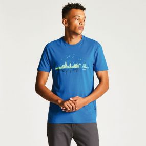 Cityscape Tee National Blue