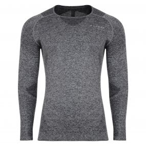 Men's Zonal III Long Sleeve Base Layer Top CharcoalGrey