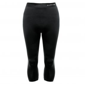 Zonal III Quarter Leggings Black