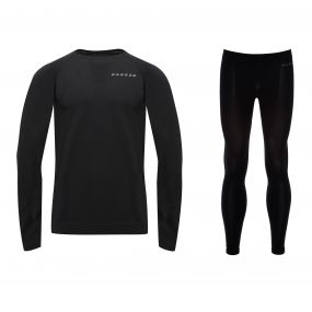 Men's In Mode Base Layer Set Black