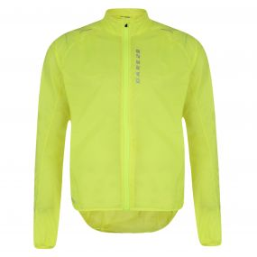 Ensphere Packaway Jacket Fluro Yellow