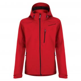 Mens Vigilence II Waterproof Shell Jacket Seville Red