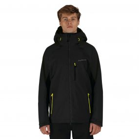 Men's Vigilence II Waterproof Shell Jacket Black
