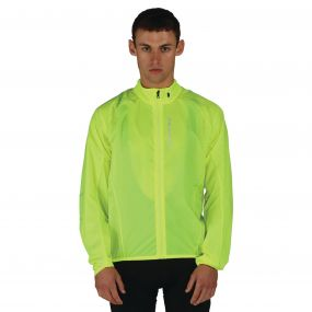 Men's Ensphere II Windshell Jacket Fluro Yellow