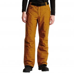 Men's Free Rein Ski Pants Golden Brown