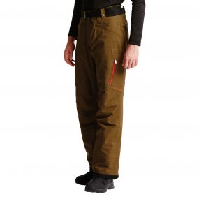 Men's Free Rein Ski Pants Camo Green