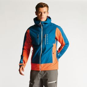 Men's Preside Jacket Kingfisher Pumpkin