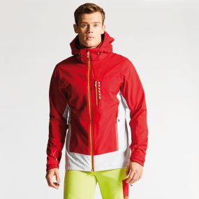 Diligence Jacket Danger Red/Cyberspace Grey