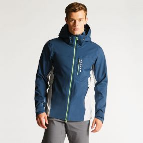 Men's Diligence Jacket Admiral Blue/Cyberspace Grey